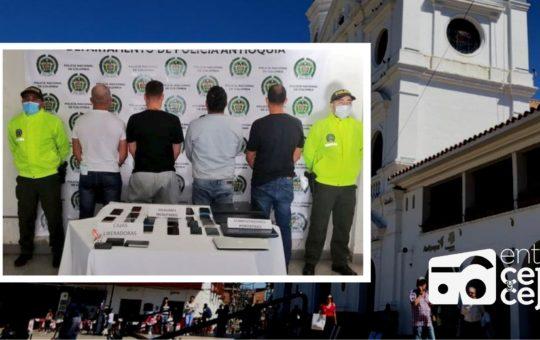 """Rionegro: capturaron cuatro personas del grupo delincuencial """"Flash Box"""""""