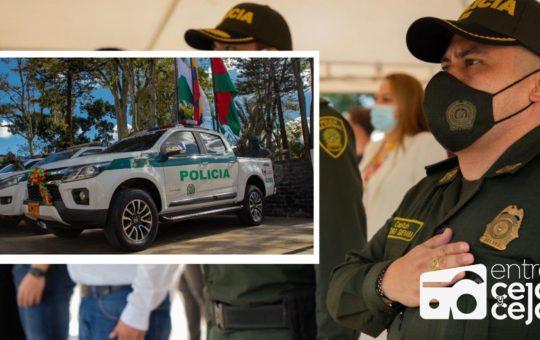 La Ceja: con nueva camioneta esperan mejorar la operatividad Policial