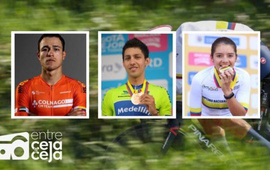 Carmelitanos de Oro en los Campeonatos Nacionales de Ruta 2021.