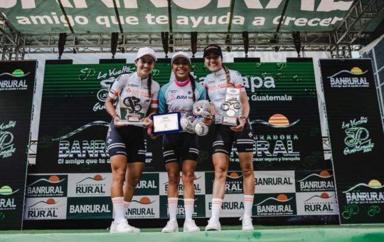 Ciclistas del Oriente brillaron en la Vuelta a Guatemala.