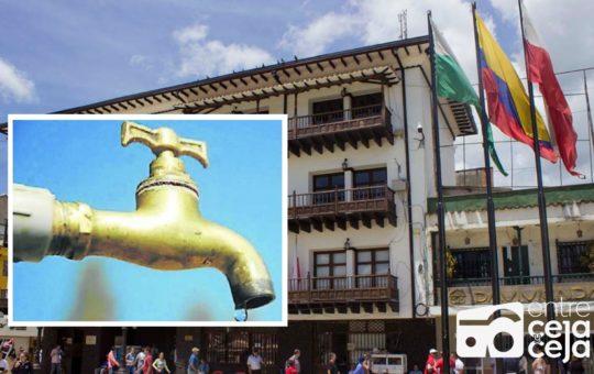 Alcaldía de Rionegro expresó inconformismo a EPM por fallas en prestación del servicio de acueducto.