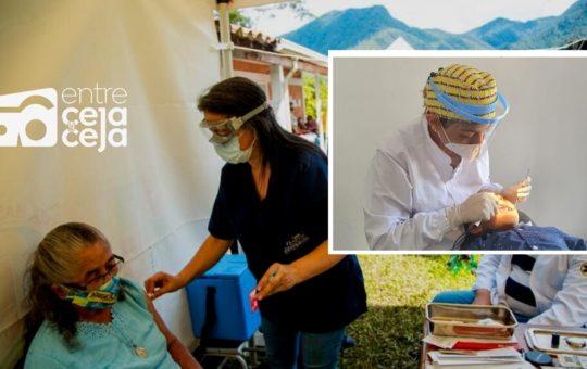 1.098 personas fueron beneficiadas con jornadas de salud en veredas de El Carmen de Viboral.