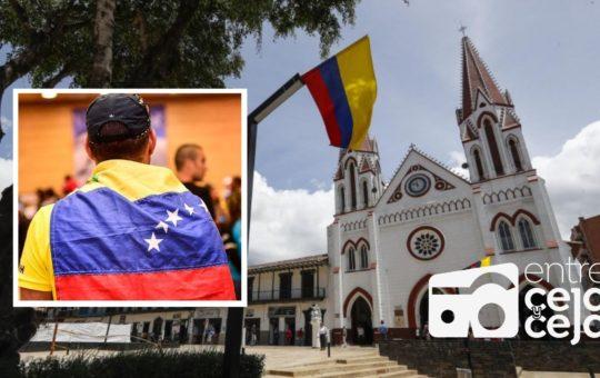 La Ceja: habrá jornada especial para población migrante de Venezuela.