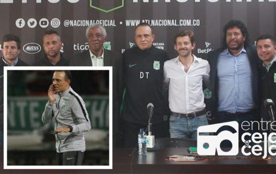 Atlético Nacional presentó en Guarne el nuevo cuerpo técnico.