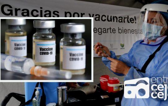 La Ceja: aplicarán primeras dosis contra el Covid a personas de 50 años en adelante.