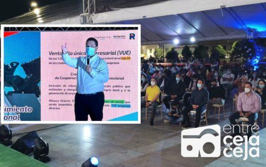 Rionegro realizará millonaria inversión para crear 8.000 empleos.