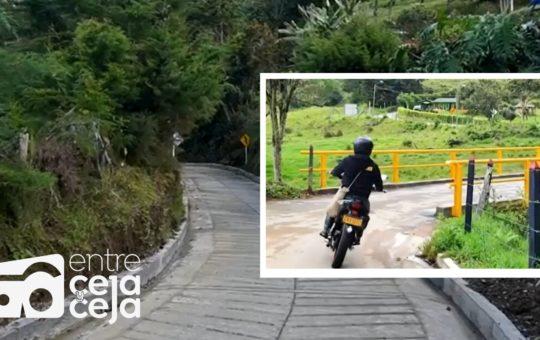 El Retiro: se han mejorado más de 60 km de vías rurales.