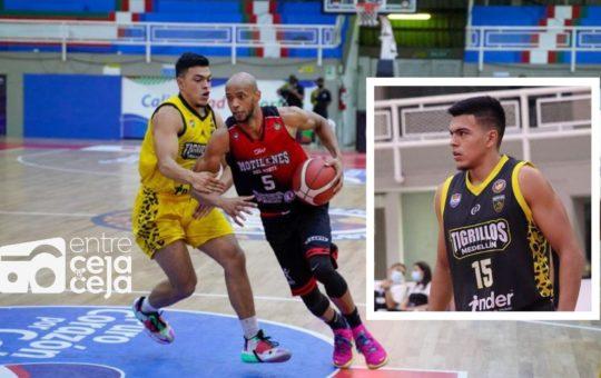 Joven de Rionegro jugará hoy la final de la Liga Profesional de Baloncesto