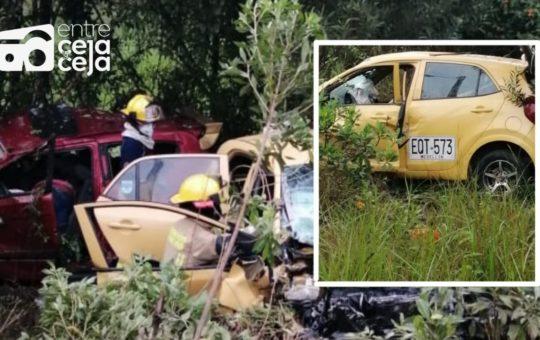 Atención: Grave accidente vehicular deja tres heridos y cinco muertos.