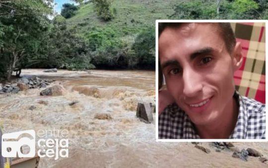 Autoridades de Caracolí encontraron el cuerpo sin vida de Andrés Cardona.