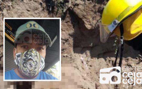 Guarne: Ayudante de construcción falleció tras caerle encima un alud de tierra.
