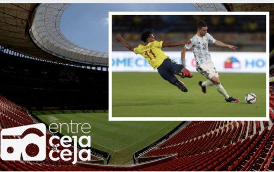 Colombia se  juega el paso a la final de la Copa América.