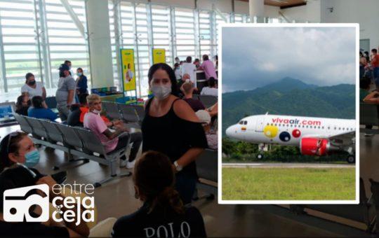 Por amenaza de bomba, avión que venía con 100 pasajeros hacía Rionegro evacuó la tripulación.