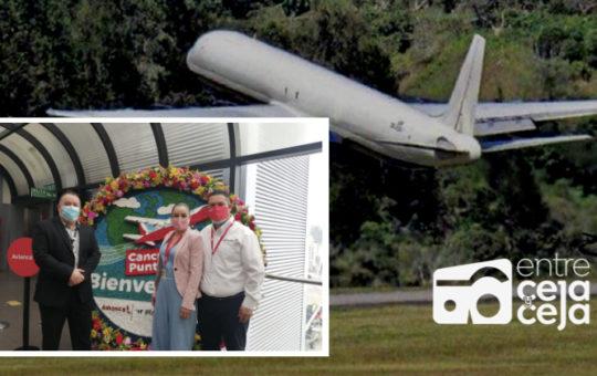 Inauguran vuelo entre Rionegro  y Punta Cana