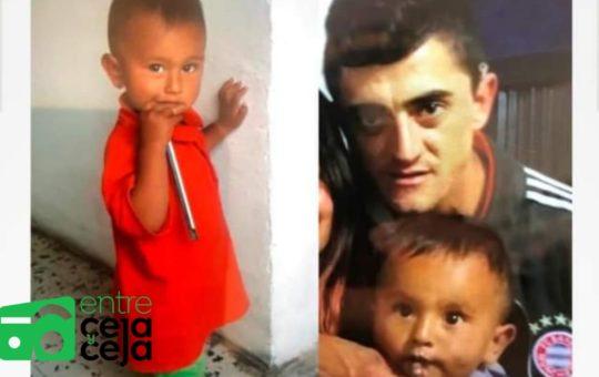 El Carmen: Sin permiso y borracho un hombre se llevó a su pequeño hijo.