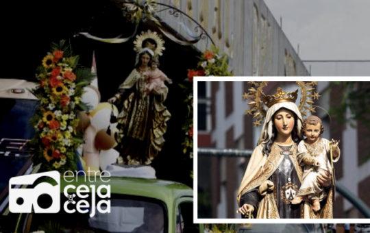 16 de julio, el día de la Virgen del Carmen, patrona de los conductores.