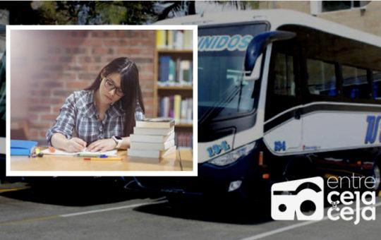 La Ceja: radicaron proyecto de acuerdo para crear subsidio de transporte para estudiantes.