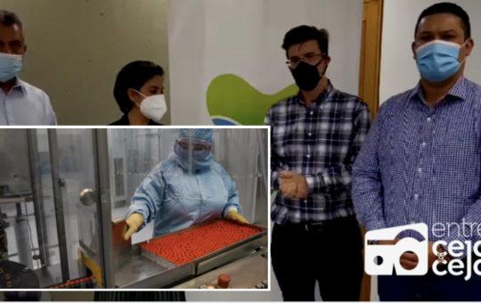 En Rionegro se crearía planta de producción de vacunas contra el Covid.