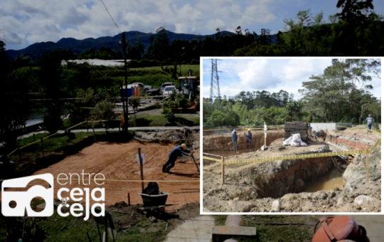 EEPP de La Ceja socializó con la comunidad el avance de obras en la  PTAR.