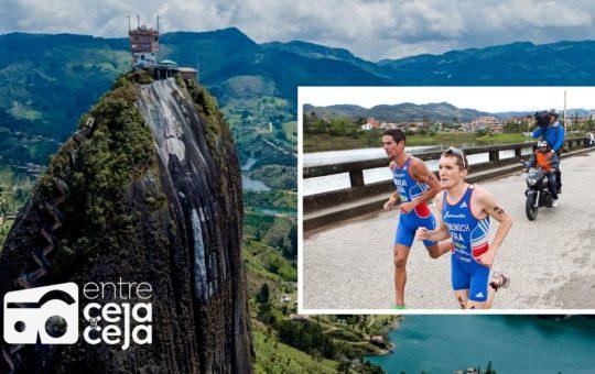 Deportistas de 8 países competirán en Triatlón Guatapé 2021.