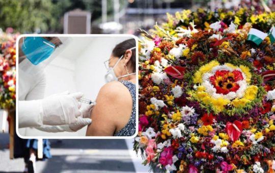 Mayores de 40 años sin vacunar no podrán ingresar a los eventos programados por la Feria de las Flores en Medellín