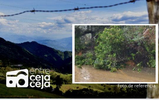 ¡Ojo! Hay cierre total de la vía El Retiro – Montebello.