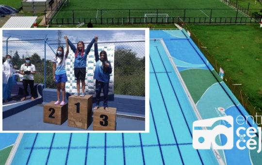 Acuatic de La Ceja, el club más ganador  del Campeonato Departamental de Natación.