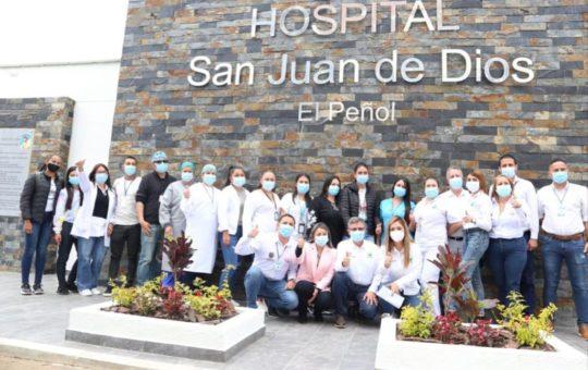 Hospital de El Peñol recibió mejoras en su infraestructura