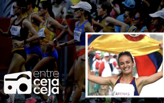 ¡Histórico! Lorena Arenas, medalla de Plata en Marcha Atlética.