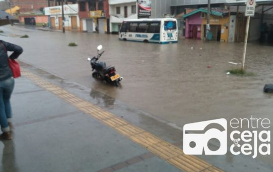 Aliste sombrilla: Durante esta semana se presentarán fuertes lluvias en el Oriente.