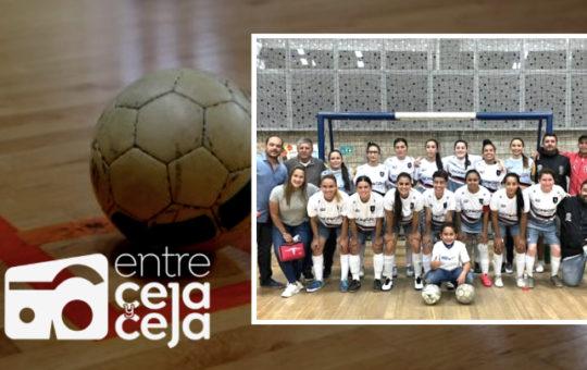 Rionegro Futsal femenino avanzó a campeonato nacional pre Copa Libertadores.