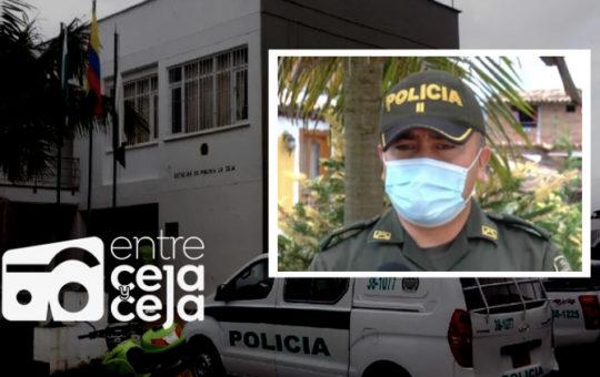 La Ceja tiene nuevo Comandante de Policía