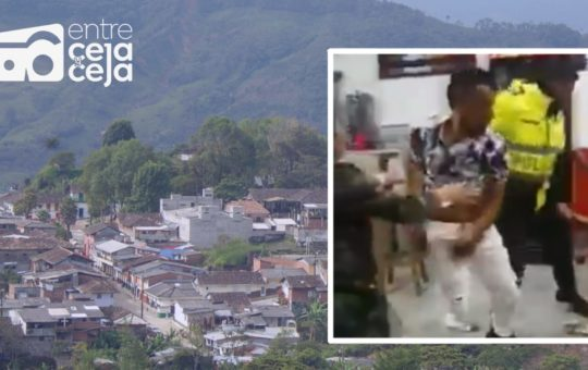 Argelia: Dos hombres se enfrentaron a machete al interior de una taberna.