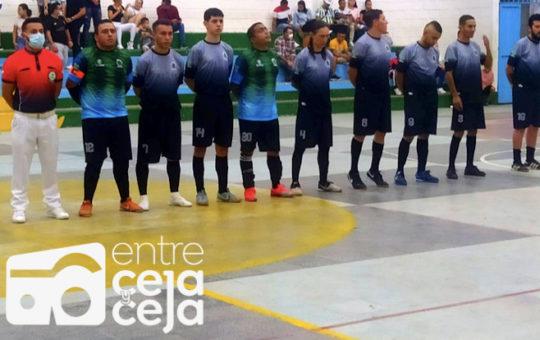 La Ceja recibe hoy a Ituango en una nueva fecha de la Copa Élite de Fútbol de Salón