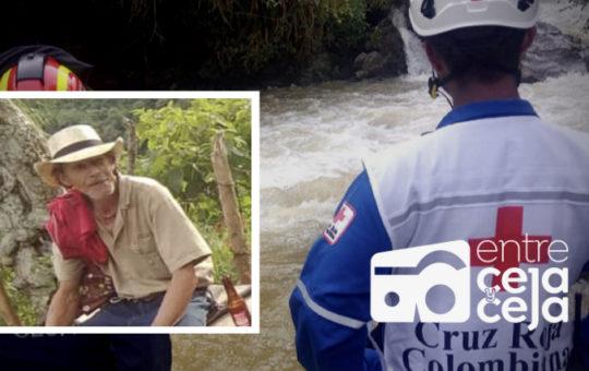 Se cumplen 24 horas de la desaparición del un hombre en el río La Miel.