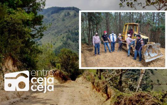 El Retiro: en menos de dos meses, se han intervenido 45 km de vías rurales.
