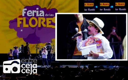 «El Cóndor de Oriente» nuevo Rey Nacional infantil de la Trova, Feria de las Flores.