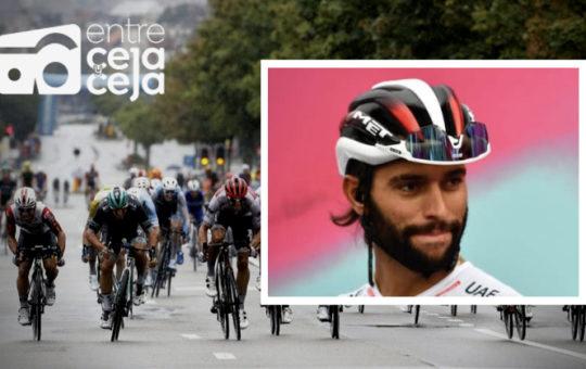 Fernando Gaviria entró en el top 10 del  Brussels Cycling Classic