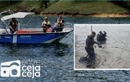 Pescador se ahogó en la represa de El Peñol. No tenía chaleco salvavidas.