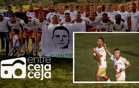 La Ceja pegó primero en la final del Torneo Intermunicipal de fútbol.