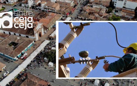 Sin energía: así quedarán varios sectores y empresas de Rionegro este martes 24 de agosto.