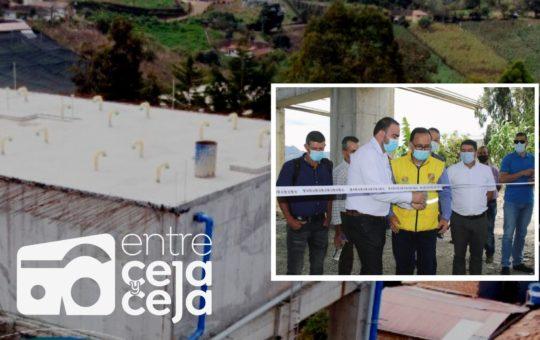 El Carmen: inauguran tanque de agua en Zona Norte