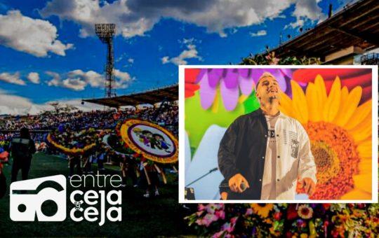 Heider González, el artista carmelitano que brilló en el cierre de la Feria de las Flores