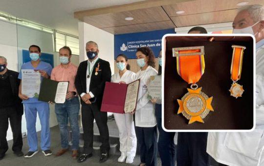 Clínica San Juan de Dios de La Ceja recibió reconocimiento por su misión médica durante la pandemia