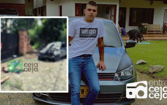 Presunto exceso de velocidad provocó accidente en que murió un joven.