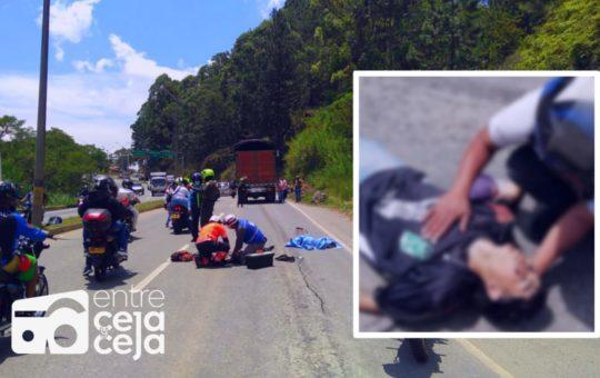 ¿Homicidio Culposo?: Joven que practicaba «Gravity» murió al caer entre las llantas de un camión.