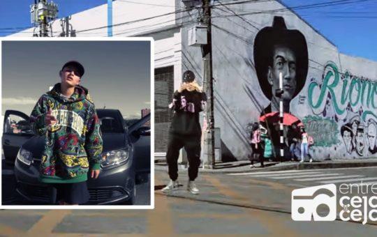 Artista rionegrero superó récord de visitas en YouTube