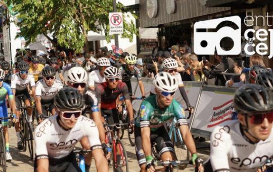 ¡Atención! Por accidente ciclístico, cancelan circuito final de la Vuelta Antioquia en La Ceja