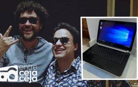 Ladrones se robaron 8 computadores que iban a ser donados a personas ciegas.