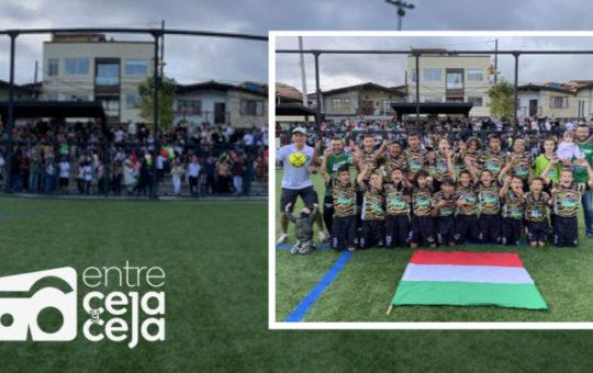Corregimiento Sur de Rionegro, campeón del Zonal Oriente del Baby Fútbol.